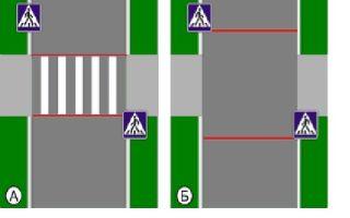 Пешеходный переход в 2020 году — знак, пропуск пешехода, остановка, проезд, границы