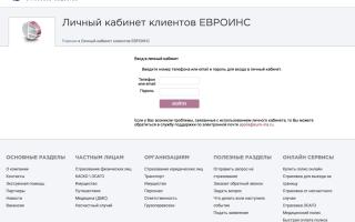 Осаго в евроинс в 2020 — как купить онлайн, отзывы