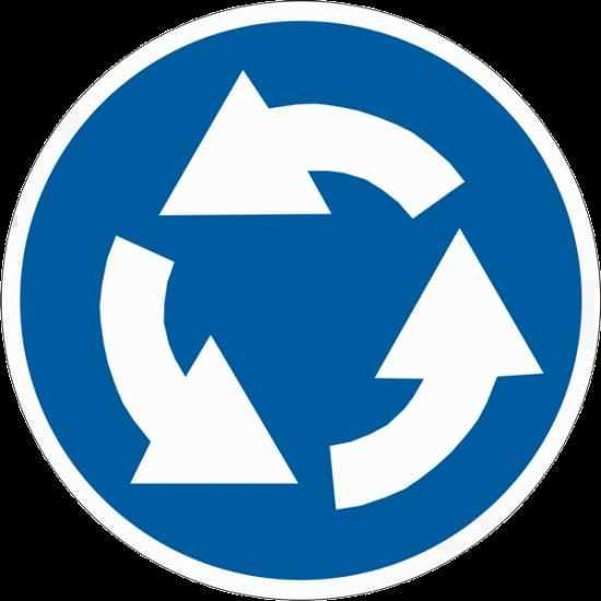 Круговое движение по ПДД в 2020 году - въезд на круг, поворотники, кто главный, кто уступает