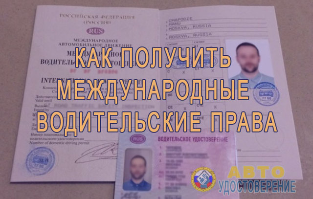 Получение международного водительского удостоверения в 2020 в ГИБДД