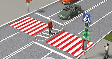 Обгон на пешеходном переходе в 2020 году - разрешен ли, штраф или лишение