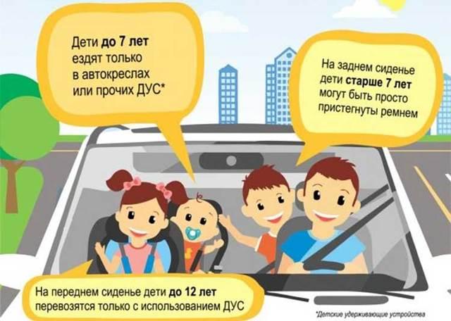Установка детского кресла (автокресла) в автомобиль в 2020 году - на переднее сиденье