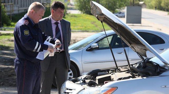 Акт осмотра автомобиля в 2020 году - образец, в автосервисе, для постановки на учет