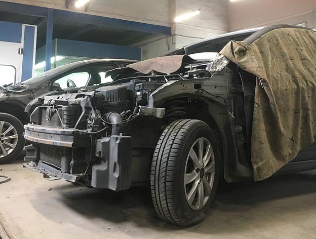 Можно ли ездить на машине после ДТП в 2020 году - до экспертизы, на ходу, без покраски, до и после ремонта, с нерабочей передней фарой