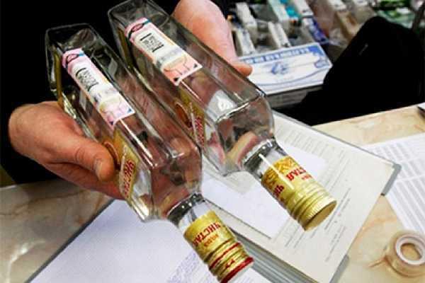 Продажа алкоголя по водительскому удостоверению (правам) в 2020
