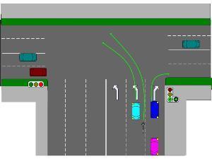 Разворот в 2020 году - на перекрестке, правила, через трамвайные пути, со светофором, где запрещен, на Т образном перекрестке