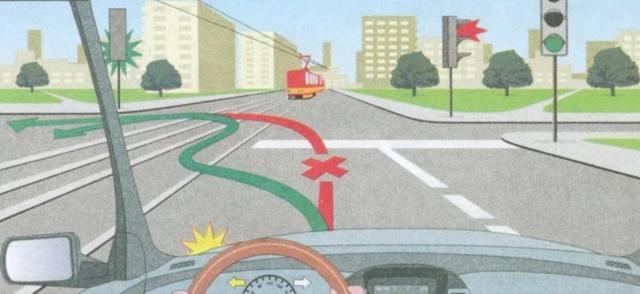 Кому вы обязаны уступить дорогу при повороте налево в 2020 - автобусу, мотоциклу, трамваям, знак