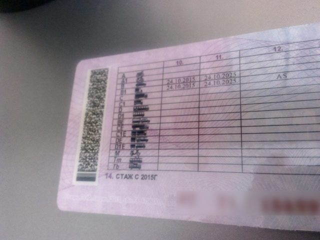 Особые отметки в водительском удостоверении (правах) в 2020 году - нового образца, машиниста тракториста, медицинская справка обязательна