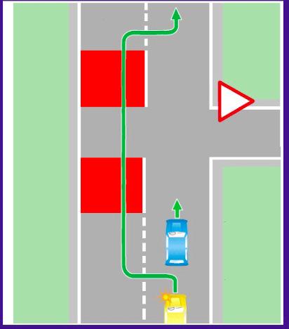 Обгон на перекрестке по главной дороге в 2020 - разрешен ли, через сплошную, на нерегулируемом, правила, штраф, с разметкой